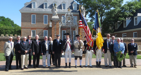 Memorial Day at the Governor's Palace
